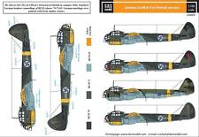 S.B.S Models, 1/48, D48009, DECALS for Junkers Ju-88 A-4 in Finnish service