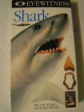 Eyewitness - Shark (1994) VHS documentary Martin Sheen ocean live action photos