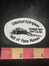 Seattle Washington UNLIMITED HYDROPLANE HALL OF FAME MUSEUM Patch 00RC