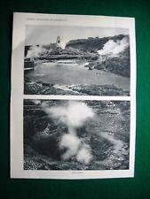 Nel 1931 Toscana Soffioni boraciferi di Larderello reticolati di tubiere