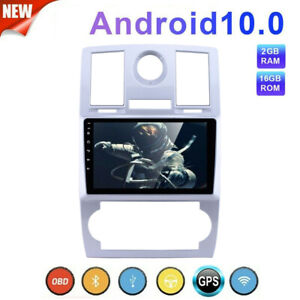 For Chrysler 300C 2004-2008 Car Radio Android 10.1 2DIN Touch Screen GPS Stereo