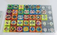 Job Lot Pokemon Advance Waps Discs In Case Rare Collectable