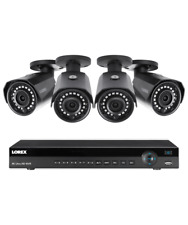 Lorex 8 channel NR9082 4K home security system with 4 weatherproof 4MP Bullet...