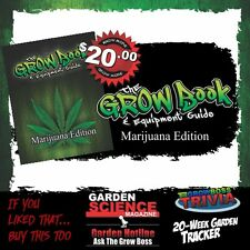 The Grow Boss- The Grow Book & Equipment Guide Indoor Marijuana Growing Cannabis