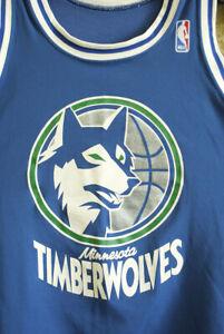 Vintage 80s Sand Knit Minnesota Timberwolves Corvin Richardson Garnett szXL
