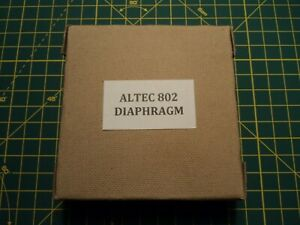 Paper diaphragm for Altec 802 drivers and many more models!