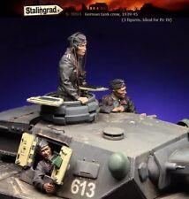 Stalingrad German tank crew 1939-45 (3 figures ideal for Pz-IV) 1/35 Resin