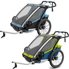 Thule Chariot Sport 2 Kinder-Fahrradanhänger Zweisitzer Buggy Rad-Anhänger Sport