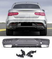 Für Mercedes-Benz GLE Coupe C292 AMG Look Diffusor Stoßstange Auspuff Grill #01