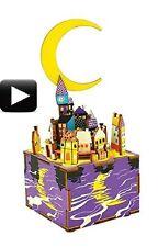 3D Wooden Puzzle Midsummer Night Dream Crank Music Box Robotic Robotime Jigsaw