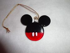 Hanging Mickey Mouse Head Figurine of Blown Glass