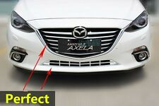 ABS Chrome Front Grille Cover Trim For 2014+ Mazda 3 Axela 12pcs/set New
