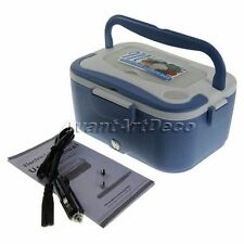 Convenient Electric Heating Lunch Box Storage Container Food Warm Heater Car Kit