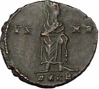 CONSTANTINE I the GREAT 347AD  Ancient Roman Coin Christian Deification  i355595