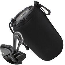 Universal Objektivköcher Gr. XL schwarz Neopren Tasche Köcher für Objektive