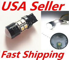 6000K White T20 10W 7440 7443 Q5 Cree Projector 12 SMD LED Brake Up Tail Light