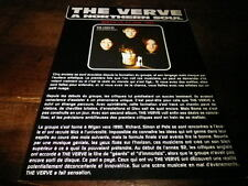 THE VERVE - Plan média / Press kit !!! A NORTHERN SOUL !!!