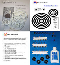 1951 Williams Arcade Pinball Machine Tune-up Kit - Includes Rubber Ring Kit!