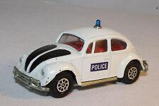 CORGI WHIZZWHEELS #373 VOLKSWAGEN VW 1200 SALOON POLICE CAR, NICE, ORIGINAL
