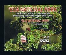 Tonga - 2017 EUA National Park Postage Stamp Souvenir Sheet