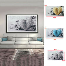 Heart Roses Box Mounted Canvas Print Wall Art Painting Picture Photo Frameless