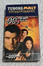 2 Tuborg malt entertainment VHS cassette from Israel with hebsub 007 5th element