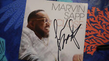 Autographed Marvin Sapp Close  CD Insert