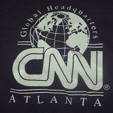 "New listing *Rare* Vtg Cnn ""Global Headquarters"" Atlanta Georgia T-Shirt Xl Purple Ga"