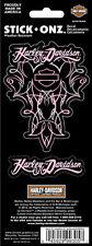 "Harley-Davidson ""AUTOCOLLANT PINK PINSTRIPE"" Voiture / Moto etc. CG-99305"