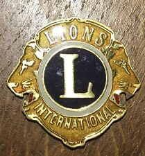PETITE PLAQUE DU LIONS INTERNATIONAL (30)