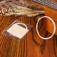 4pcs White Nylon String Replacement Part for 21/23/26in Ukulele Classical Guitar