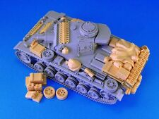 Legend Production, LF1164, allemand Pz. Pour Kpfw. III arrimage set, 1:35