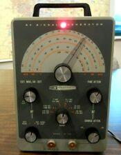 Nice Heathkit Ic 102 Rf Signal Generator Withcable Amp Manual Ham Radio Test Bench