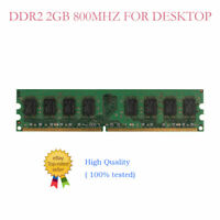 2GB 4GB 8GB 16GB DDR2 800MHz (PC2-6400) For Crucial Desktop Memory DIMM Lot
