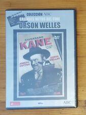 CITIZEN KANE DVD + EXTRAS ORSON WELLES SEALED NEW SPANISH VERSION