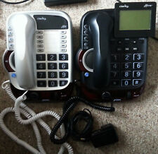 Lot of 2 Clarity Alto & Plus Hearing Loss Phone 54005 54505 - Please Read