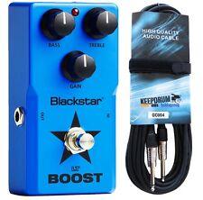 Blackstar LT-Boost Effektpedal für E-Gitarre + Gitarrenkabel 6m