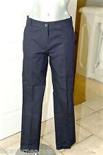 luxueux pant pantalon laine stretch marine femme LACOSTE taille 36 ÉTAT NEUF