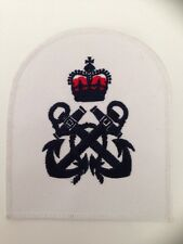 British Royal Navy PETTY OFFICER Anchor Patch New Genuine