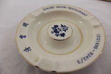 Chung Woon Restaurant ashtray Chinatown, Manhatten NYC