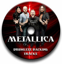 METALLICA STYLE ROCK METAL DRUMLESS MP3 BACKING TRACKS REHEARSAL DRUMS JAM TRAX
