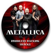 METALLICA STYLE ROCK METAL DRUMLESS MP3 BACKING TRACKS REHEARSAL DRUMS JAM TRAX