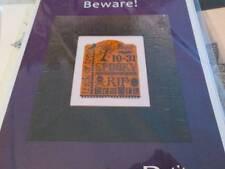Erica Michaels Beware Halloween Petites CHART & 40 Count Gauze-83x102 Stitches