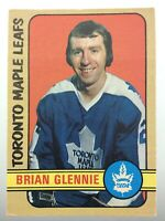 1972-73 Brian Glennie Toronto Maple Leafs 216 OPC O-Pee-Chee Hockey Card R994