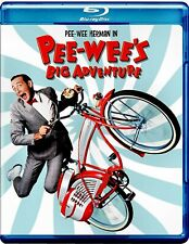 NEW BLU RAY - PEE WEE's BIG ADVENTURE -  PEE WEE HERMAN - ELIZABETH DAILY