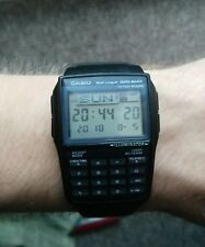 Casio Men's Watch, Data Bank, Calculator, DBC-32-1A