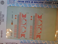 Microscale Decal N #60-4373 Texas Mexican Railway (T,M)-Diesel Hood Locomotives