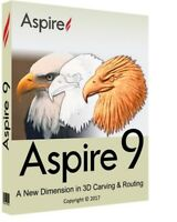 🔥 Vectric Aspire 9.512 + Clip Art Bonus 🔥 Windows (64 bit) 👜 E-mail Delivery