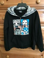 Women's Tokidoki Marvel Comics Black Zippered Hoodie Jacket S Small