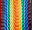 WW1 VICTORY MEDAL RIBBON MEDAL REPLACEMENT MOUNTING GREAT WAR ANZAC